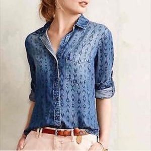 Anthropologie cloth & stone long sleeve top